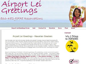 Airport Lei Greetings
