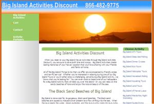 Big Island Activities Discount