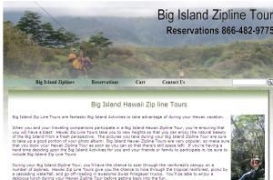 Big Island Zipline Tour