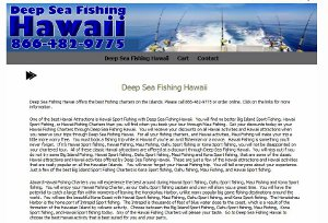 Deep Dea Fishing Hawaii