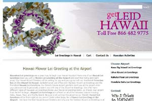 Get Leid in Hawaii