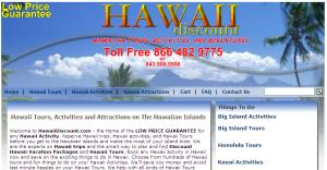 Hawaii Discount