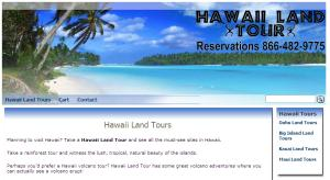 Hawaii Land Tours